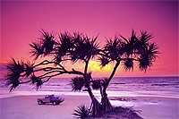 Fraser Island - Beautiful Sunsets